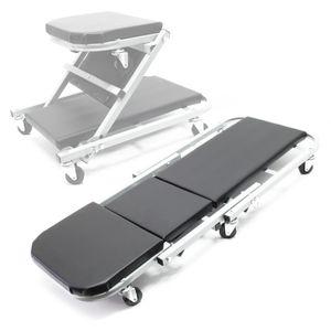 Montageliege 90x41,5x12,5cm Montagerollbrett Rollliege Werkstattsitz