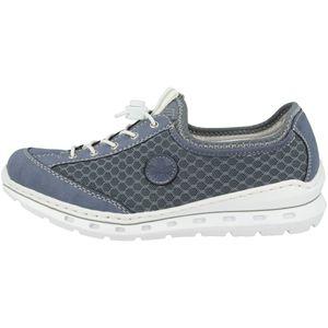 Rieker Damen Sneaker Jeansblau L22M6-14, Größe 43