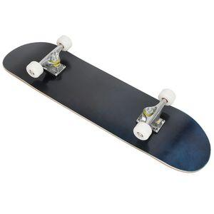 Skateboard mit ABEC 9 Kugellager 79cm - PolyurethanDämpfer + PolyurethanRollen Komplettboard