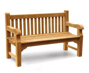 Gartenbank Piceno 120 cm XXL extra stark Teak Massivholz