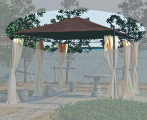 Siena Garden Ersatzdach für Pavillion Tosca mocca 3 x 4m
