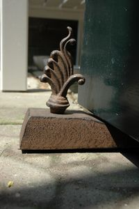 Türstopper Ornament Landhaus Gusseisen