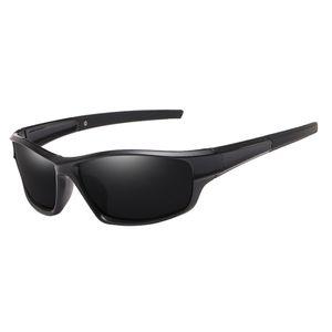 Polarisierte Sport Sonnenbrille Skifahren Radfahren Brille für Männer Frauen UV Schutz Sonnenbrille Winddicht Staubdicht Anti Nebel Brillen Farbe Schwarz