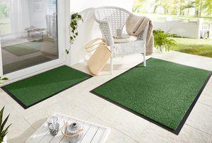 Schmutzfangmatte Fußmatte Garden Brush Grün, Größe:60x90 cm