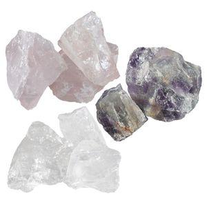 Wasserkristalle Amethyst Rosenquarz Bergkristall