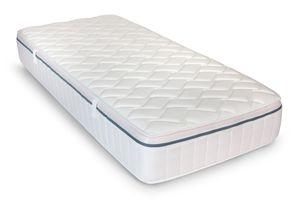 Matratze Relaxsan Breeze 90x200cm, 23cm hoch, Härtegrad H3-4, 7-Zonen-Spezial-Komfortschaum-Matratze, wendbare Matratze mit weicher und harter Seite, Wendematratze mit Klimaband