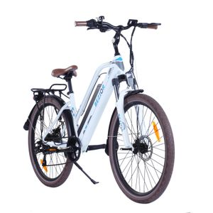 BEZIOR M2 26 Zoll Electric Bike 48V 12.5AH E-Bike Faltrad Citybike Elektrisches Fahrrad 250W Elektrofahrrad Mountainbike mit LED-Weiß