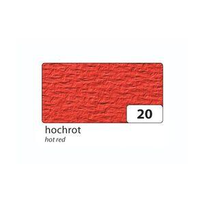 folia 110320 Passepartoutkarten mit rechteckiger Ausstanzung, mit Kuverts, hochrot, 6-teilig (1 Set)