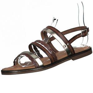 Tamaris Damen Sandalen Braun, Schuhgröße:EUR 39