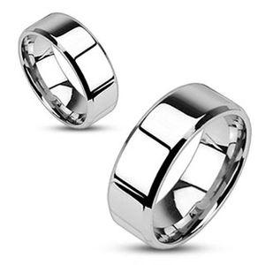 Damen Herren Ring Edelstahl Partnerring Ehering Verlobungsring Bandring silber 70 - Ø 22,20 mm 8 mm