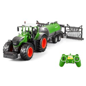 Double E E355-003 RC Traktor mit Sprühanhänger 2,4GHz 1:16