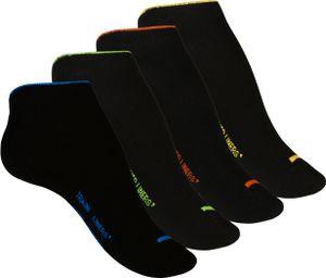 """VCA® Sneaker Socken 8 Paar, mit """"TRAINER LINERS"""" Schriftzug 35-38"""