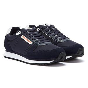 Calvin Klein Jeans PolyurethanNylon Runner Marine Herren Sneakers