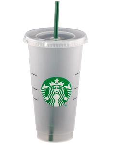 Starbucks Becher - reusable Cup/Tumbler mit Deckel & Strohhalm, 24 oz / 710 ml -Tik Tiok