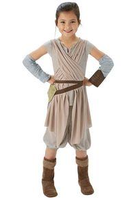 Rubies - Kinder Kostüme aus Star Wars: Das Erwachen der Macht - Rey - M (5-6 Jahre)