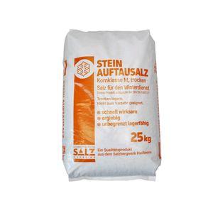 Auftausalz Südwestdeutsche Salzwerke AG im 25 kg Sack, Steinauftausalz, Streusalz