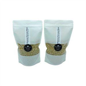 Gourmet White Popcorn 1 kg aus den USA zarter Popcornmais Puffmais Knallmais