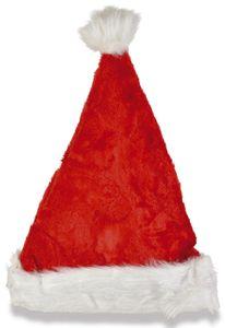 Nikolausmütze  rot