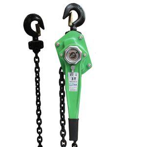 TrutzHolm®  3t 3000Kg/3m Kettenzug Hebezug Ratschenzug Hebelzug Flaschenzug