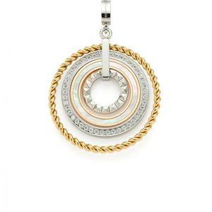 Leonardo Anhänger Geometria Clip&Mix Silber Gold