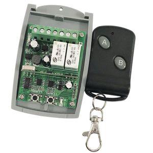 Funkfernbedienung 433MHz Wireless Fernbedienung Schalter Relaisschalter Remote Control für Fenster Garagentor Spielzeugauto usw.