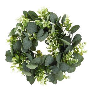 """Eukalyptus Kranz Front Tür Nachbildung, Bauernhaus Kranz 12 \""""Greenery Kranz Winter Frühling Bauernhof Haus Kranz Weihnachten Neue Jahr"""