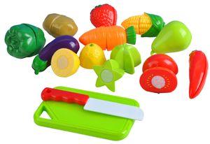 Lebensmittel Obst Gemüse Küchenspielzeug Schneiden Set Messer Brett 6080