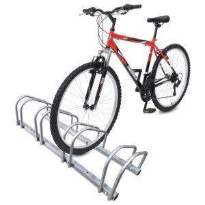 VOUNOT Fahrradständer, Boden und Wandmontage, 4 Fahrräder