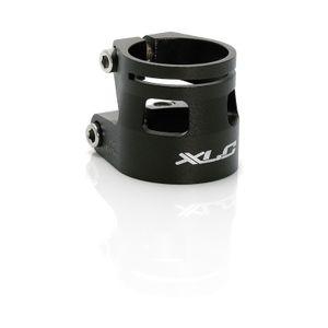 XLC Sattelstützklemmring PC-B04, für Ø 31,6/34,9 mm, schwarz (1 Stück)