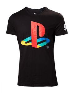 Playstation Classic Logo T-Shirt schwarz XL