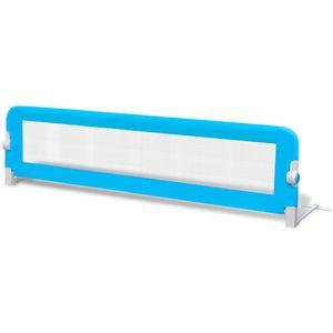 vidaXL Kleinkind Sicherheit Bettgitter 150 x 42 cm Blau