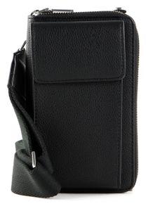 s.Oliver Wallet / Crossover Bag Grey / Black