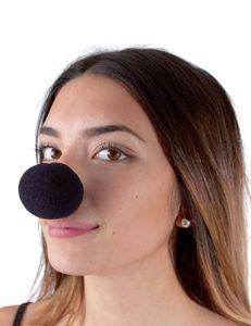 Schaumstoff-Clownsnase schwarz