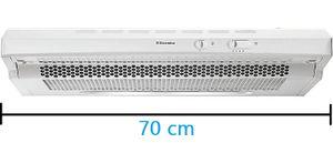 Electrolux EFT7406/S Dunstabzugshaube 70cm weiß Unterbauhaube