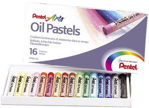 PentelArts Ölpastellkreide PHN4 16er Kunststoff Etui