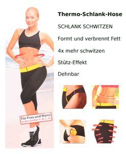 SmartTex Thermo-Schlank-Hose Sporthose Trainingshose Trainingsersatz Schwitzhose, Größe:M
