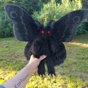 Gothic Mothman Plushie sucht eine Liebe und ein magisches Zuhause HJF210308158