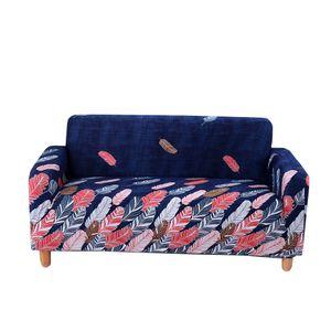 Elastisch Sofa Überwürfe Sofabezug Stretch Sofahusse Sofa Abdeckung Schonbezug 2 Style_9 wie beschrieben