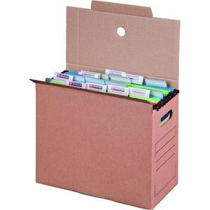 10 x Archivboxen Archivschachteln für Hängemappen 16cm