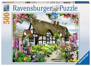 500 Teile Ravensburger Puzzle Verträumtes Cottage 14709