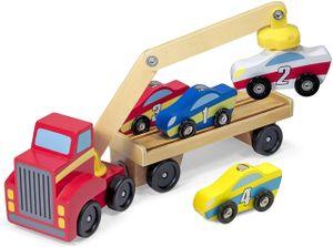 Magnetischer Autoverladekran aus Holz
