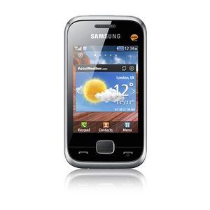 "Samsung Champ Deluxe C3310, 7,11 cm (2.8""), 240 x 320 Pixel, TFT, 18 MB, 16 GB, 1,3 MP"
