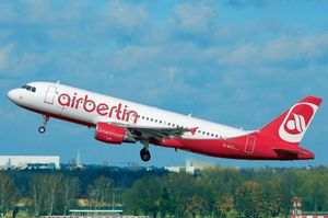 Revell Modellbausatz Flugzeug 1:144 - Airbus A320 AirBerlin im Maßstab 1:144, Level 3, originalgetreue Nachbildung mit vielen De