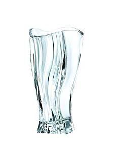 Nachtmann Vorteilsset 4 x  1 Glas/Stck Vase 4446/30cm Curve  99440 und Gratis 1 x Trinitae Körperpflegeprodukt
