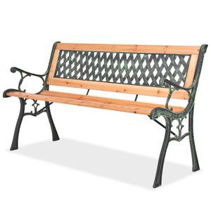 Gartenbank 122 cm Holz