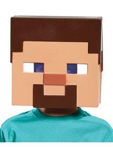Minecraft-Lizenzmaske Steve Videospielmaske hautfarben-braun