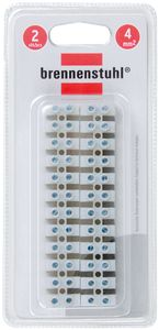 Brennenstuhl Lüsterklemme für 4mm² Litzen, 1164430