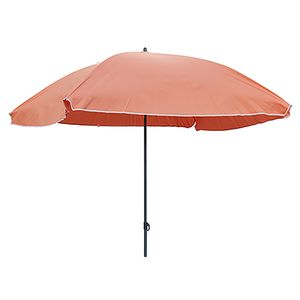 Sonnenschirm Rechteckig orange Polyester UV knickbar 150x200cm