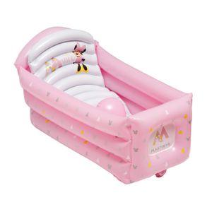 Disney Baby Badewanne Baby Pool aufblasbar Minnie Geo rosa weiß