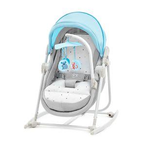5 in 1-Babywippe/Babyliege von Kinderkraft blau